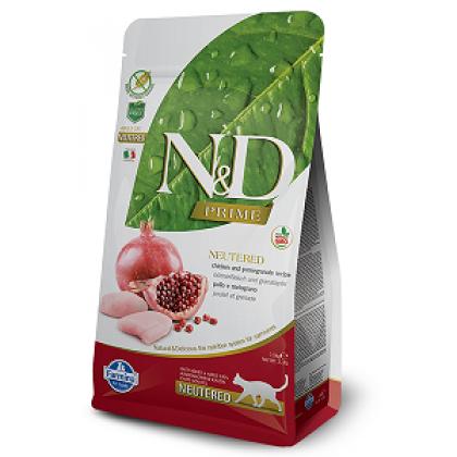 FARMINA N&D CAT ADULT NEUTERED Chicken&Pomegranate 1.5kg